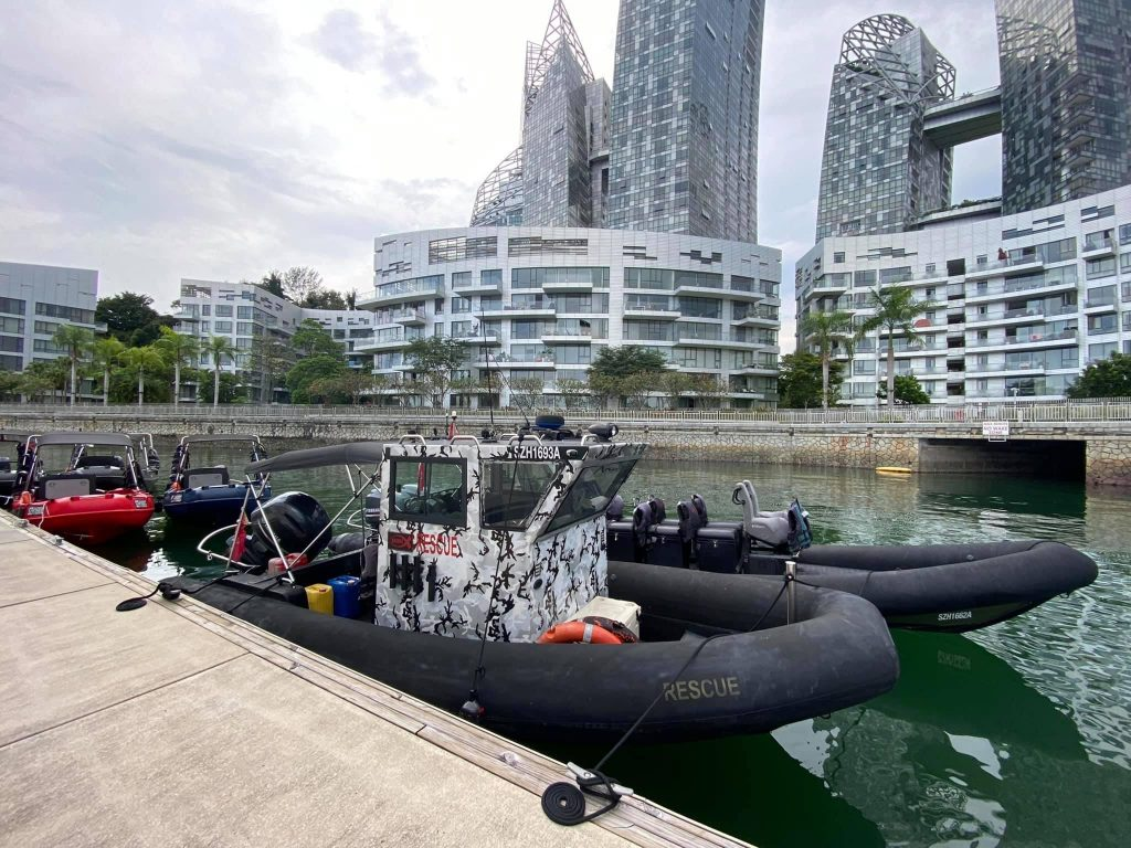 rhib boat singapore boating sg kairos tourism fast craft things to do in sg boats speedboat marina at keppel bay